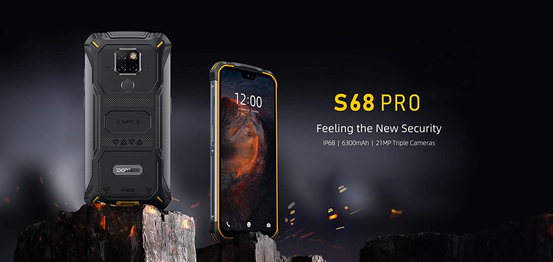 DOOGEE S68 Pro, Teléfono Móvil Resistente Helio P70 Octa Core 6GB ...