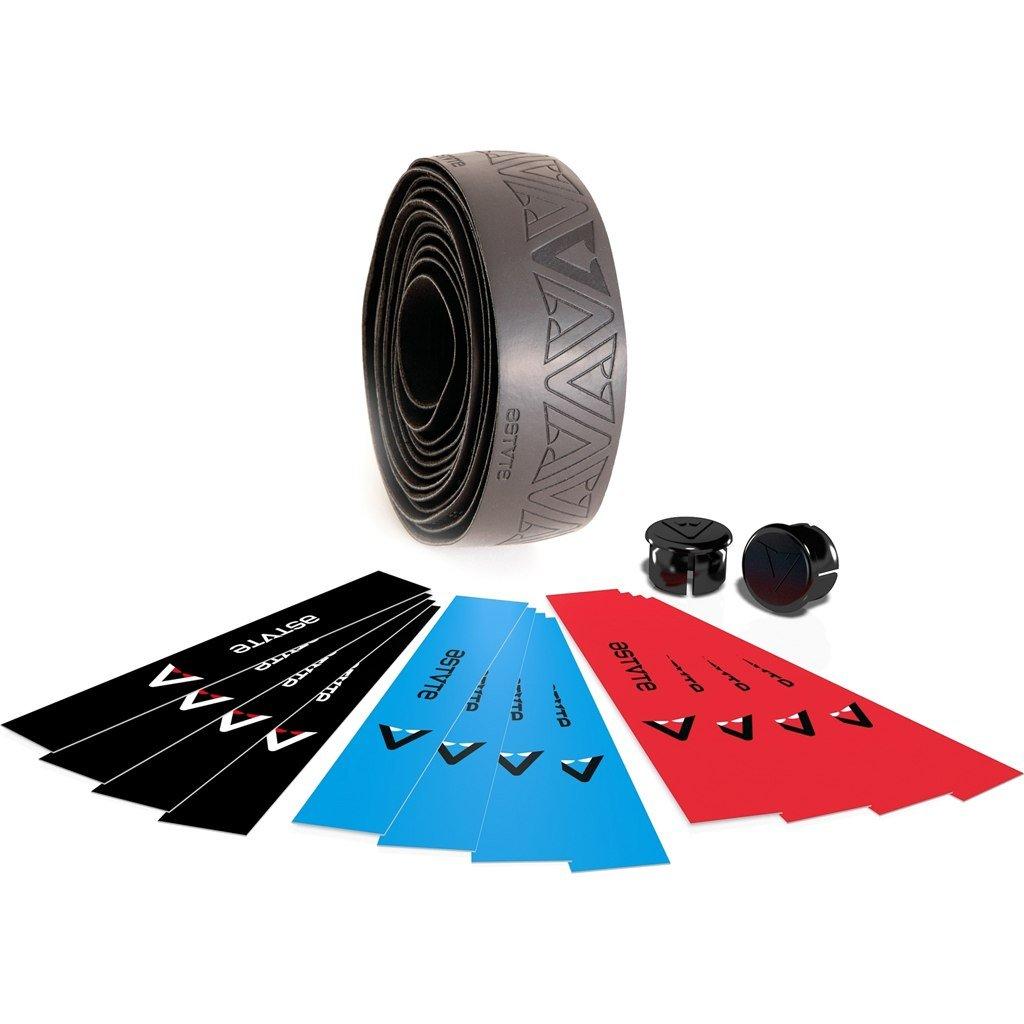 schwarz//blau//rot Fluo Lenkerb/änder One Size Astute BARTAPE Dark Race
