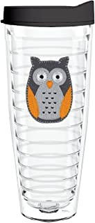 product image for Smile Drinkware USA-OWL FELT 26oz Tritan Insulated Tumbler With Lid and Straw