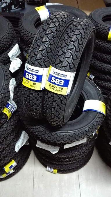 1 Paar Reifen Michelin S83 3 50 10 Piaggio Vespa Px Lml Auto