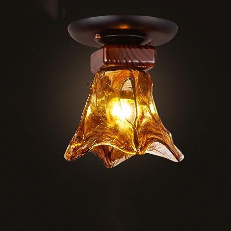 KMYX American Village Retro Ceiling Light Lámpara de Techo ...