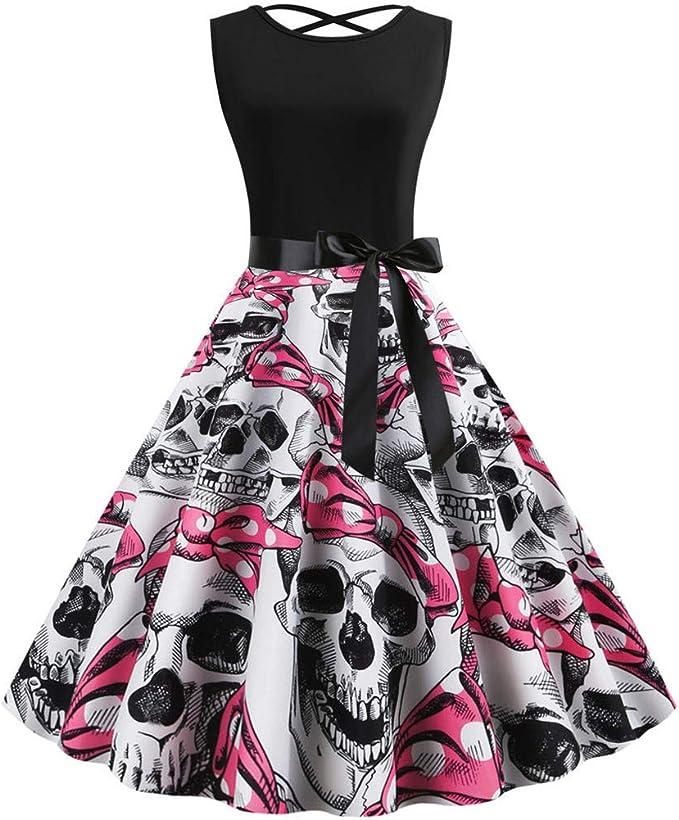 Acheter robe tete de mort online 12