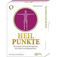 SET - Heilpunkte: Neue Kraft und Ausrichtung durch das Halten von Körperpunkten - 40 Karten mit Anleitung