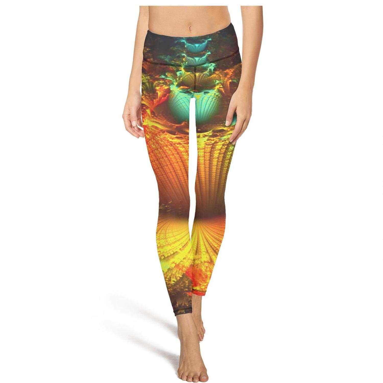 DFTH Leggings high Waisted Yoga Pants Training Dance Trousers Legging Stretch Popular Elastic Trippy Trance Mix