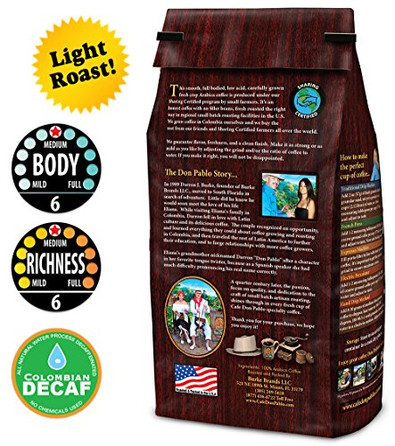 2LB-Cafe-Don-Pablo-Light-Roast-Decaf-Swiss-Water-Process-Colombian-Gourmet-Coffee-Decaffeinated-Light-Roast-Whole-Bean-Coffee-2-Pound-2-lb-Bag