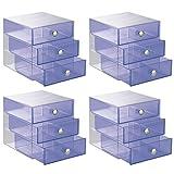 InterDesign 3-Drawer Storage Organizer for