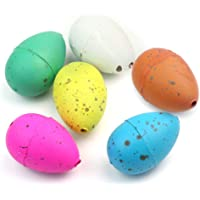 ReFaxi® 6 x Cute Magic Growing Dino Egg Hatching Dinosaur Eggs Add Water Child Kid Gift