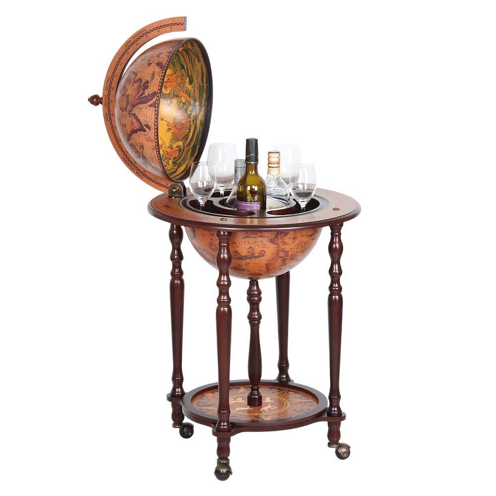 NEX HT-KF304G-L Globe Wine Bar, Wood
