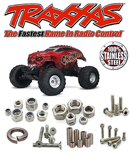 ☆ TRAXXAS ◘ Stampede 4x4 VXL TSM ◘ Stainless Steel Screw Kit ☆