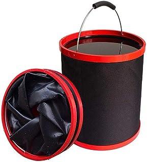 zhiyu&art decor Collapsible Wash Bucket 12L Foldable Camping Fishing Bucket Multi-Functional Car Wash Bucket Equipment Cleaning Outdoor