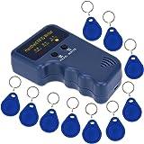 KKmoon Handheld 125KHz RFID ID Card Writer / Copieur Duplicator + 10 pcs Écriture EM4305 Cartes Clés