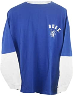 VF Duke Blue Devils NCAA Mens Long Sleeve Shirt Royal Blue Big   Tall Sizes 08175d3bc