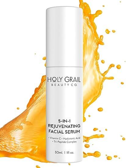 Suero facial con vitamina C, ácido hialurónico y complejo pé