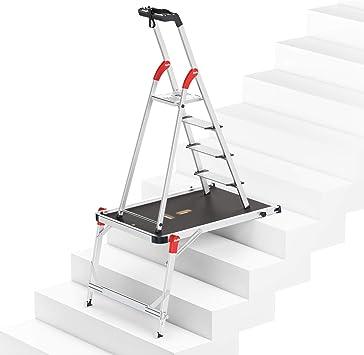 Hailo 8040-407 TP1 9940-001 + L80 ComfortLine - Juego de escaleras (4 escalones): Amazon.es: Bricolaje y herramientas