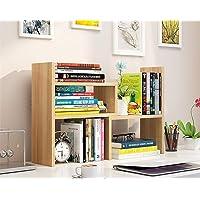 Desk Storage Organizer adjustable Desktop Display Shelf Rack Multipurpose Bookshelf Computer Desktop Storage for Office Kitchen