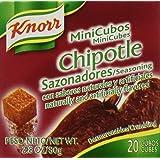 Knorr Mini Cubes, Chipotle, 20-Count Box