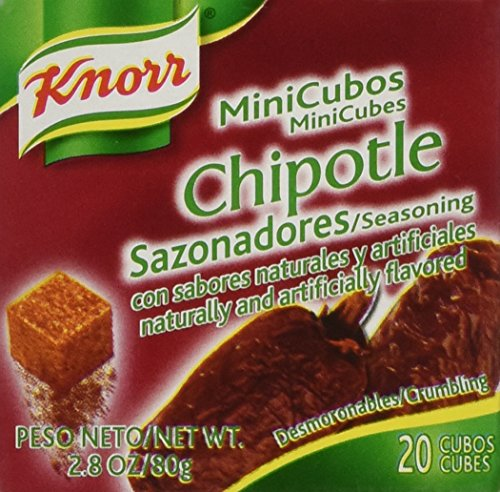 Knorr Mini Cubes, Chipotle, 20-Count Box