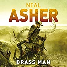 Brass Man Audiobook by Neal Asher Narrated by Ric Jerrom