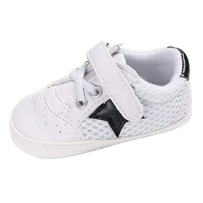 YanHoo Zapatos de bebé niña Cuna recién Nacida Zapatillas de Suela Suave Zapatos de bebé Zapatos de niño Antideslizante Mantener Caliente Calzado Deportivo ...