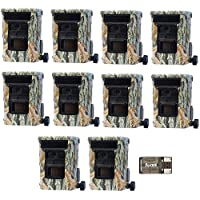 10 Browning DEFENDER 940 Wifi and Bluetooth Trail Game Cameras (20MP)   BTC10D   with Focus USB Card Reader