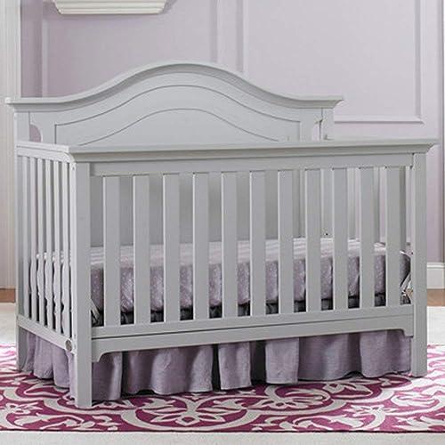 Ti Amo Catania 4-in-1 Convertible Crib, Misty Grey