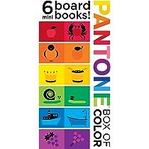 Amazon.com: Pantone: Box of Color 6 Mini Board Books! (9781419704192 ...