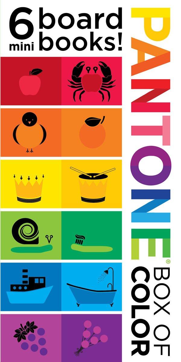 Pantone: Box of Color: 6 Mini Board Books!: 6 Mini Board Books ...