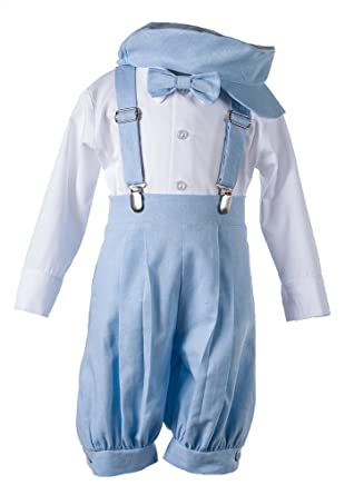 7c50e84ab2c Amazon.com  Boys Linen Knicker Outfit for Baby and Toddlers  Clothing