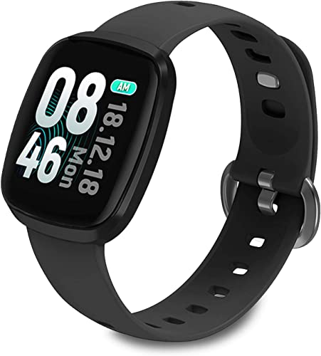 Fullmosa Smart Watch 1.3 Touchscreen, IP68 Waterproof Active Tracker with Pedometer, Heart Rate Monitor Sleep Tracker Compatible with iOS Android, for iPhone Samsung