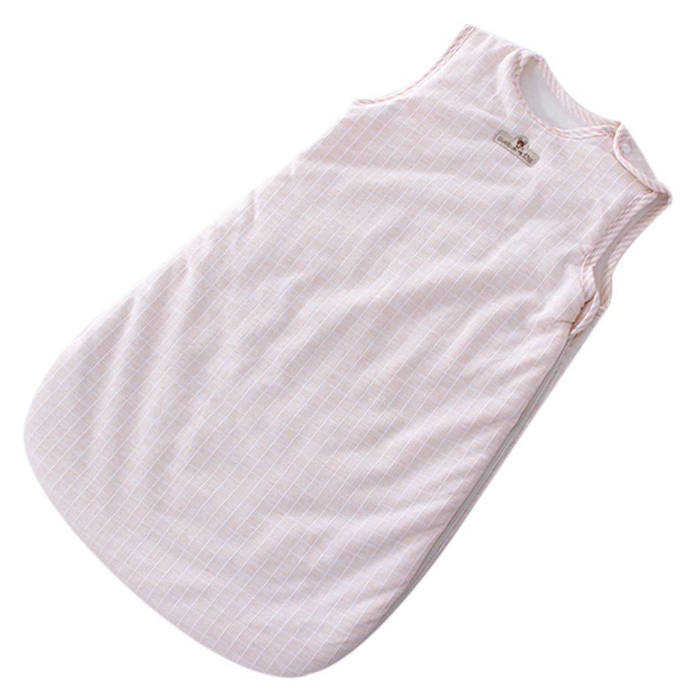 Baby Sleeveless Sleeping Bag Newborn Boy Girl Vest Sleep Sack Soft Cotton Warm Kids Sleepbag Sleepsack