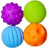 Jeux de balles, Finer Shop 4Pcs Jeux de ballons Aimable pour Bébé/Enfant