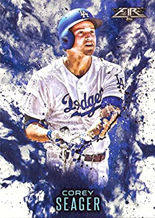 Amazoncom 2016 Topps Update Fire F 11 Corey Seager