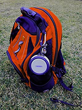 Biksi B8 Professional Bluetooth Speaker with Built in Carabiner and Suction Cup Waterproof Color :Blue Wireless Supported Speaker with Multi Function uses for Indoor//Outdoor uses