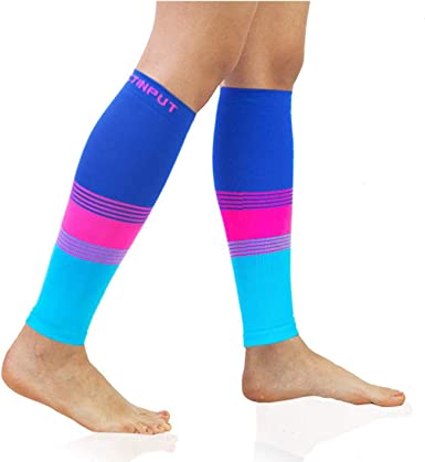 Amazon Com Calf Compression Sleeves 20 30mmhg For Men Women Best Compression Socks Running Nursing Shin Splint Clothing