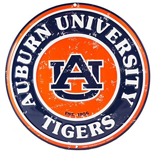 Party Explosions Auburn University Tigers Decorative Wall Sign