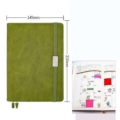 YWHY Cuaderno A5 Diario Planificador Semanal Anual Notebook ...