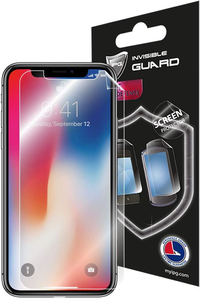 for Apple iPhone Xs MAX Screen Protector Invisible Touch Screen Sensitive Ultra HD Clear Film Anti Scratch Skin Guard - Smooth/Self-Healing/Bubble -Free Screen by IPG