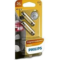 Philips 12866B2 - Bombillas para coche (C10W, T10