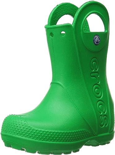 Stivali di Gomma Unisex-Bambini Crocs Handle It Rain Boot K