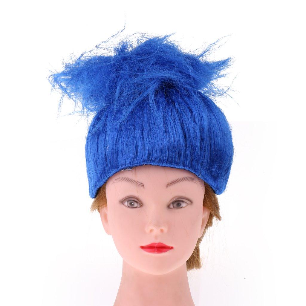 Prettyia Peluca Elfo Disfraces Magia Duende Llama Traje de Fiesta para Pelo de Mujeres Accesorio Baile de Disfraz - Azul, como se describe: Amazon.es: Ropa ...