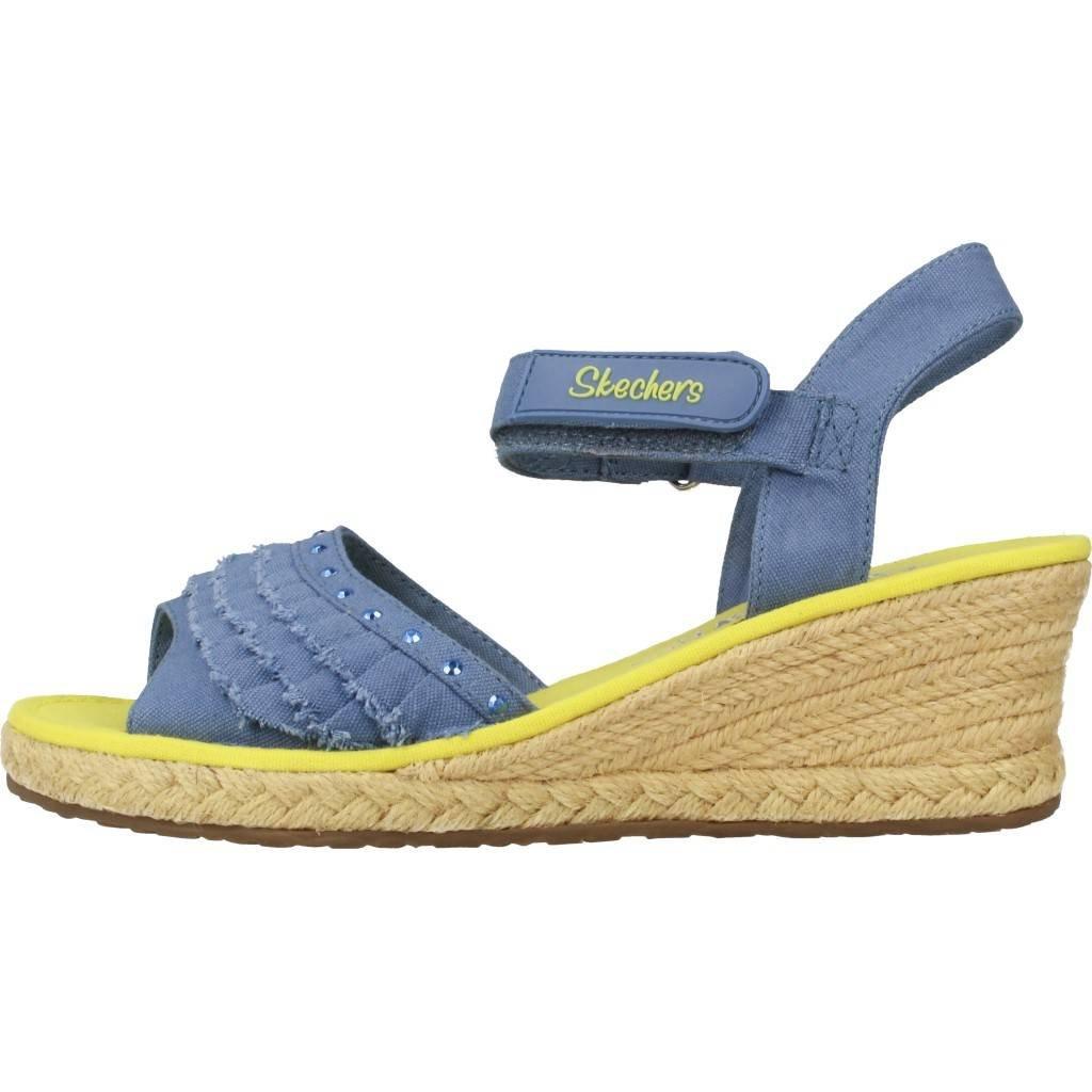 Skechers Sandalen/Sandaletten Mädchen, Color Blau, Marca, Modelo Sandalen/Sandaletten Mädchen Tikis Ruffle UPS Blau