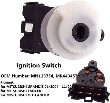 New Ignition Starter Switch for Mitsubishi Lancer Outlander Sport MN113754