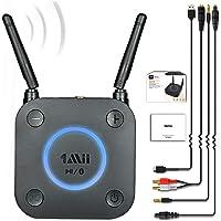 1Mii B06Pro Long Range Bluetooth Receiver, HiFi Wireless Audio Adapter, Bluetooth 4.2 Receiver with 3D Surround aptX Low…