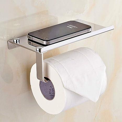 Porta Carta Igienica Da Muro.Porta Carta Igienica Da Muro Per Il Bagno Portarotolo Con