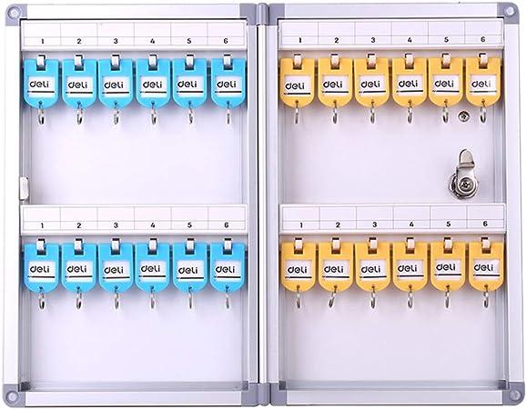 Armarios para llaves Gabinete para Llaves Caja para Llaves Gabinete De Almacenamiento para Llaves De 24 bits Caja De Seguridad Caja para Colgar En La Pared Caja De Llaves Car Cabina: Amazon.es: