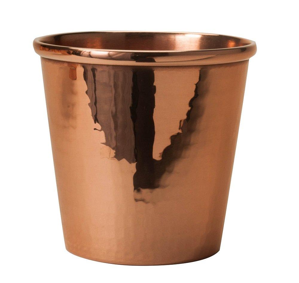 Sertodo Copper CC-12 Apa Cup, Hand Hammered 100% Pure Copper, 12 oz, Single