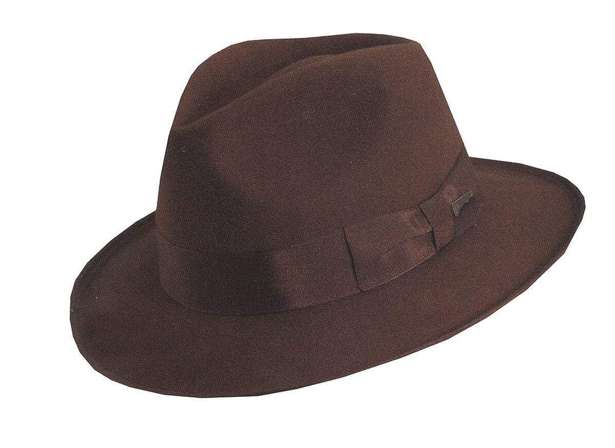 3e6cac03ae005 Amazon.com  Dorfman Pacific Deluxe Indiana Jones Adult Costume Hat  Clothing