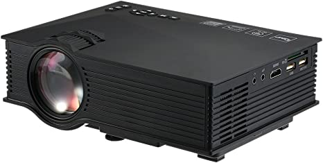 Docooler Proyector LED de 1200 Lúmenes HD 1080P 800: 1 Relación de ...