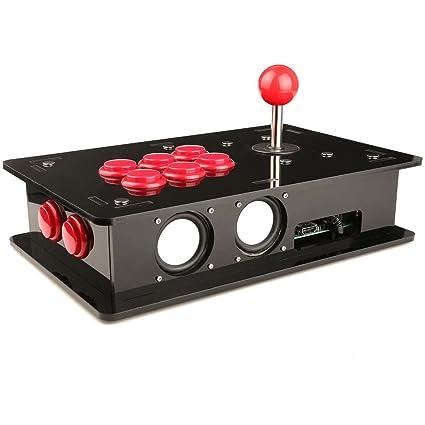 Amazon Com Geeekpi Raspberry Pi 3 Model B One Player Arcade Game