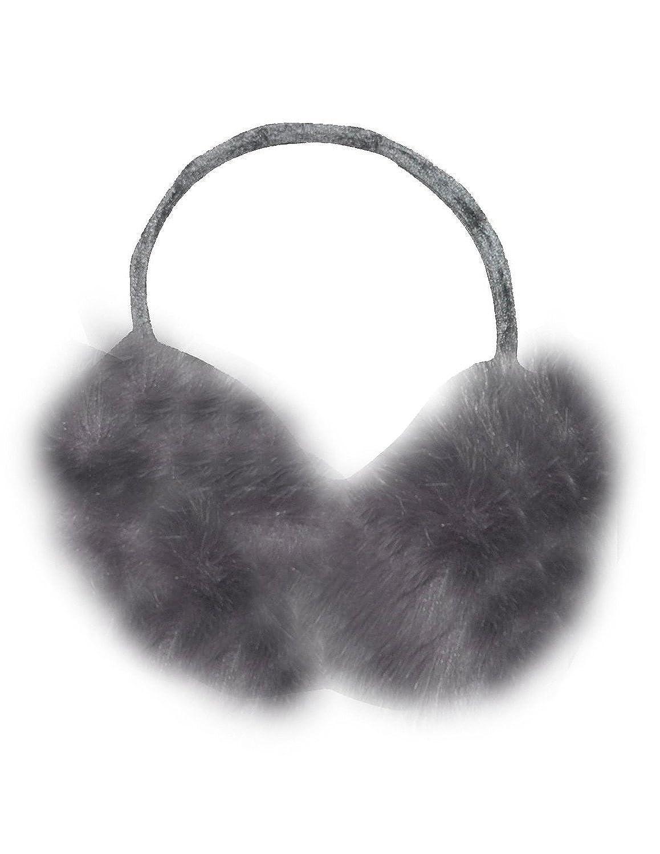 Womens Warme Winter Ski & Snow Fluffy Folding Ohrenschützer / Ohrenwärmer